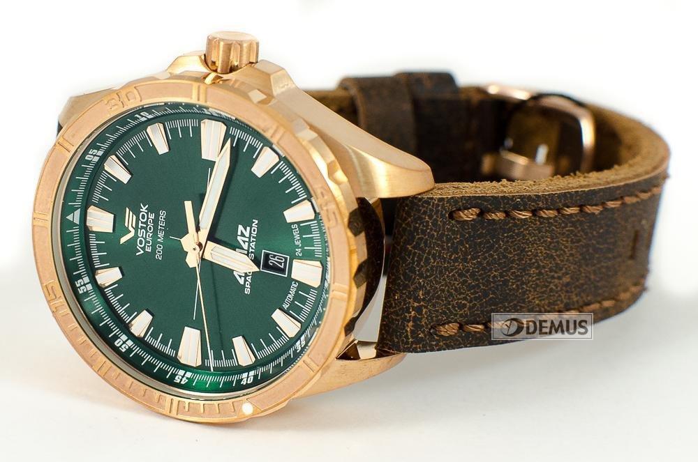 zegarki z brązu